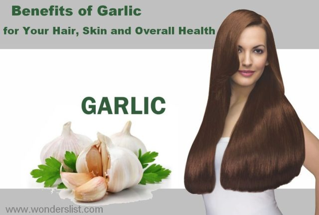 Benefits of Garlic for your Hair