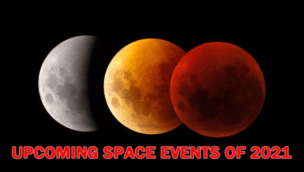 Upcoming Space Events of 2021