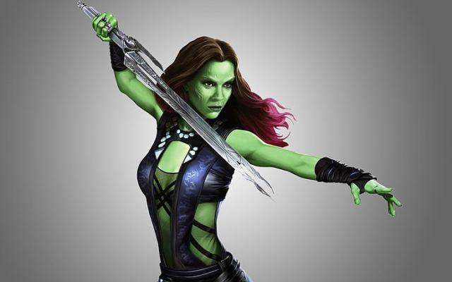 Gamora-Hottest Women in the MCU