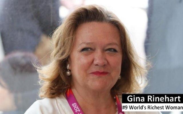Gina Rinehart richest woman