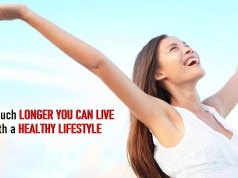 How Much Longer You Can Live With a Healthy Lifestyle