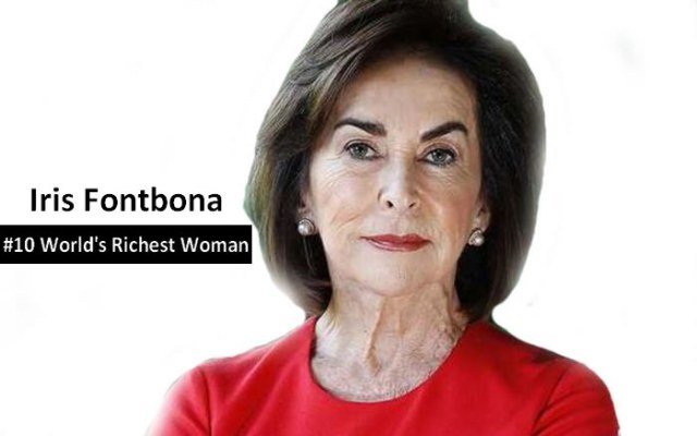 Iris Fontbona richest woman