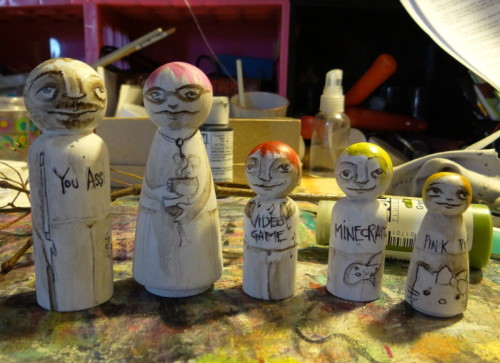 peg people all finished