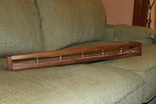 Dusty Wooden Shelf from Goodwill