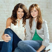 Gilmore Girls, Lauren Graham, Alexis Bledel