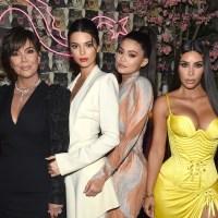 Kris Jenner, Kendall Jenner, Kylie Jenner, Kim Kardashian West