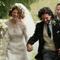 Kit Harington, Rose Leslie wedding