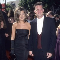 Jennifer Aniston, Matthew Perry, 1995 Emmy Awards