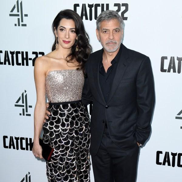 George Clooney, wife Amal