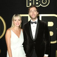 Mollie Gates and Thomas Middleditch