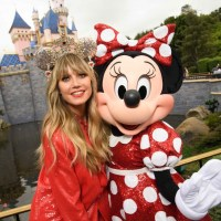 Heidi Klum, Minnie Mouse, Disneyland
