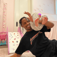 Travis Scott Stormi Webster