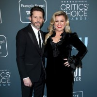 Kelly Clarkson, ex husband Brandon Blackstock, Critics Choice Awards