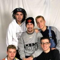 Justin Timberlake, Chris Kirkpatrick, Joey Fatone, Lance Bass, JC Chasez, *NSYNC