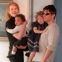 Nicole Kidman, Tom Cruise, COnnor Cruise, Bella Cruise