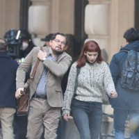 Jennifer Lawrence and Leonardo DiCaprio