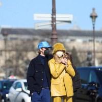 Justin Bieber and Hailey Bieber Paris