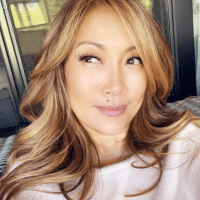 Carrie Ann Inaba blonde highlights
