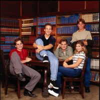 Boy Meets World cast, Rider Strong, Ben Savage, Will Friedle, Danielle Fishel, Matthew Lawrence