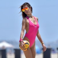 Alessandra Ambrosio bathing suit