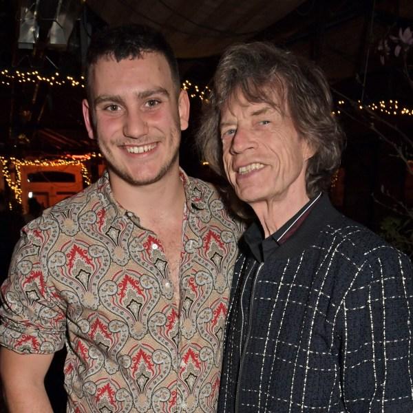 Gabriel Jagger  and Mick Jagger