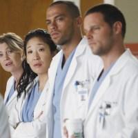 Ellen Pompeo, Sandra Oh, Jesse Williams, Justin Chambers, Grey's Anatomy