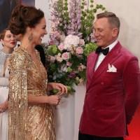Duchess Kate, Daniel Craig