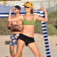 Alessandra Ambrosio beach volleyball