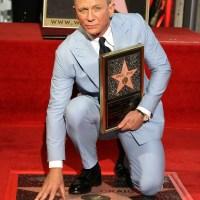 Daniel Craig, Hollywood Walk of Fame