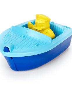 Blauw bootje Green Toys- liefsvanlauren.nl