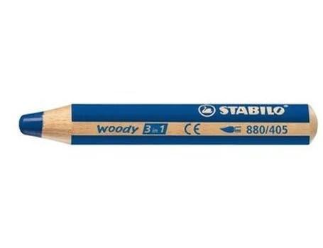 Woody- Marine Blauw Stabilo