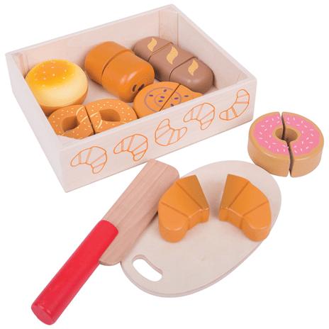 Verse broodjes en koekjes, Bigjigs, wonderzolder.nl