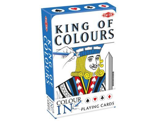 King of colours, speelkaarten zelf in te kleuren