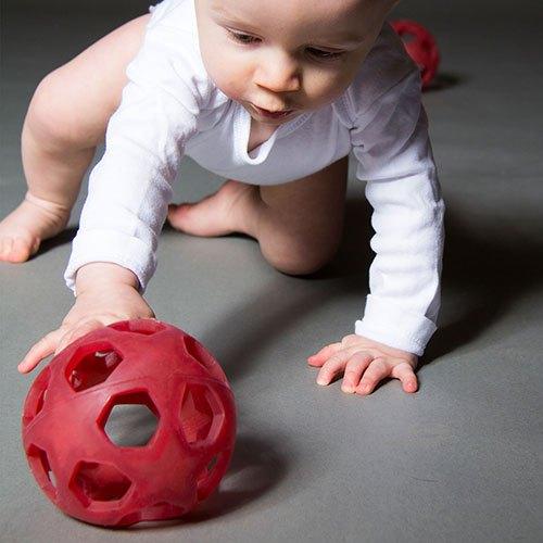Hevea natural rubber star ball, speelbal