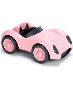 Roze Race auto van Green Toys