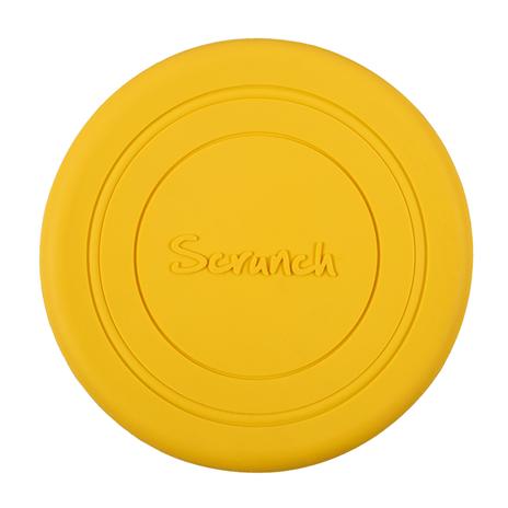 Scrunch frisbee buttercup yellow, gele frisbee, wonderzolder.nl