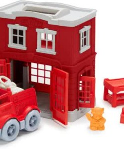 Brandweer kazerne Green Toys -wonderzolder.nl