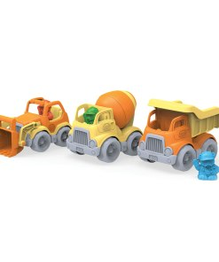 Bouw voertuigen van Green Toys