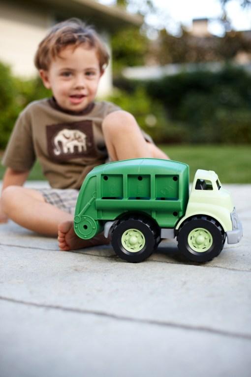 Vuilniswagen Green Toys -wonderzolder.nl