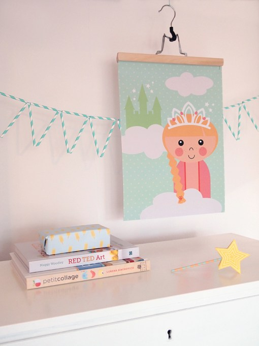 Poster prinses Papiergoed