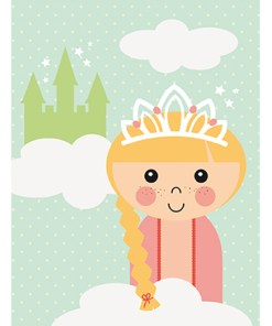 Poster prinses Papiergoed