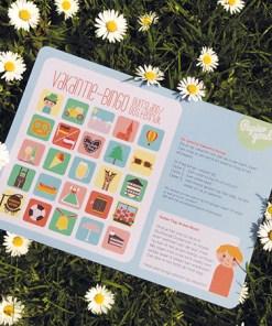Papiergoed Vakantie Bingo Duitsland