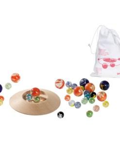 knikkerspel, knikkers, marble game Goki -wonderzolder.nl