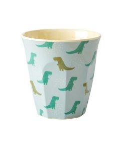 Melamine cup dino small, RICE, dinosaurus, wonderzolder.nl