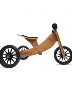 TinyTot bamboe loopfiets, Kinderfeets, 2-in-1 fiets, Tiny tot, wonderzolder.nl