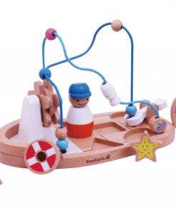 Zeeman met boot, EverEarth, visser, puzzel, kralenparcour,wonderzolder.nl