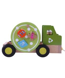 Ever Earth vuilniswagen vormenstoof, recyclingtruck, ever earth, wonderzolder.nl