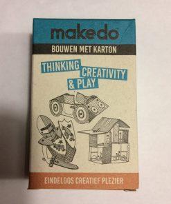 Makedo mini set, startkit, herbruikbaar gereedschap, klein cadeautje, wonderzolder.nl