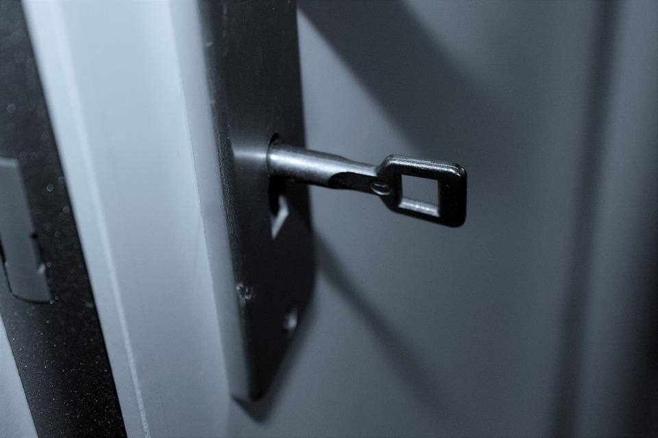 uPVC, deur, sloten