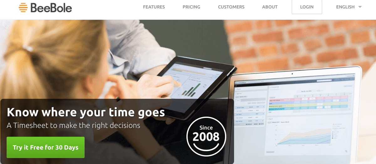 52 Best Workforce Management Software Tools   Wonolo BeeBole is the web timesheet app for business intelligence  It is a  beautifully designed timesheet solution that is easy to use and quick to  set up